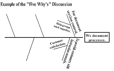 Examples of the Five Whys